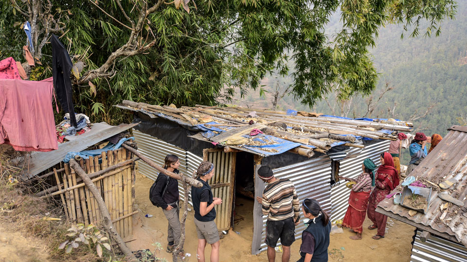 Aussie Action Abroad Construction Team in Nepal