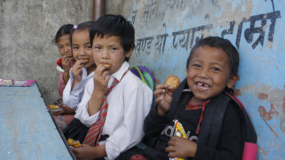Aussie Action Abroad Education Team Nepalese children