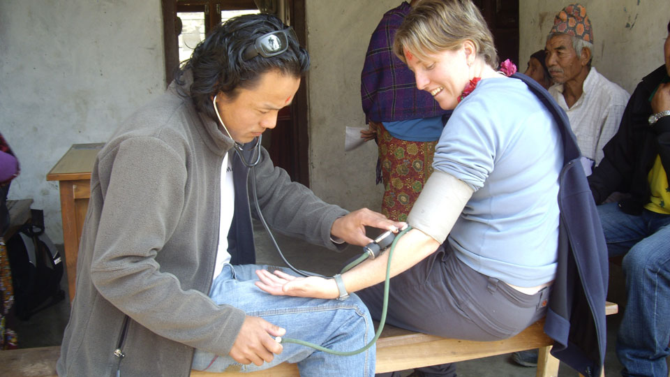 Aussie Action Abroad Health Team Nepal
